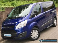 2017 FORD TOURNEO CUSTOM INDEPENDENCE RE L1 H1 310 SWB 2.0 105 BHP £17995.00