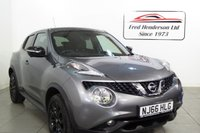 USED 2016 66 NISSAN JUKE 1.5 TEKNA DCI 5d 110 BHP This Nissan Juke is loaded with specification including Bluetooth, Satellite Navigation, heated seats, 360 degree parking cameras, leather seat, climate control, auto wipers and lights, usb input, electric folding mirrors and also has a Full Main Dealer service history with the last service carried out in September 2018 only . We have no administration fees to pay when you buy his car. Hire purchase and PCP finance are available on this vehicle. Just get in touch or apply on our website. Extende