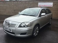 USED 2007 07 TOYOTA AVENSIS 2.0 T3-S D-4D 5d 125 BHP