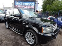 2007 LAND ROVER RANGE ROVER SPORT 2.7 HSE  £9995.00