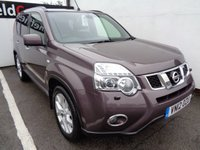 USED 2012 12 NISSAN X-TRAIL 2.0 TEKNA DCI 5d 171 BHP £205 A MONTH LEATHER TRIM SATELLITE NAVIGATION PANORAMIC ROOF PRIVACY GLASS CLIMATE CONTROL ALLOY WHEELS