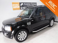 USED 2012 62 LAND ROVER DISCOVERY 3.0 4 SDV6 HSE 5d AUTO 255 BHP FULL HEATED ELECTRIC ADJUSTABLE BLACK LEATHER SEATS