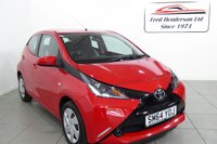 USED 2015 64 TOYOTA AYGO 1.0 VVT-I X-PLAY 5d 69 BHP We are please to offer for sale an extremely clean Toyota Aygo with air-conditioning and front electric windows Hire purchase and PCP finance are available on this vehicle. Just get in touch or apply on our website. Extended warranties are also available. Ask about our FREE MOT FOR LIFE OFFER.