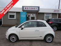 USED 2011 11 FIAT 500 1.2 LOUNGE 3DR HATCHBACK 70 BHP +++JULY SALE NOW ON+++
