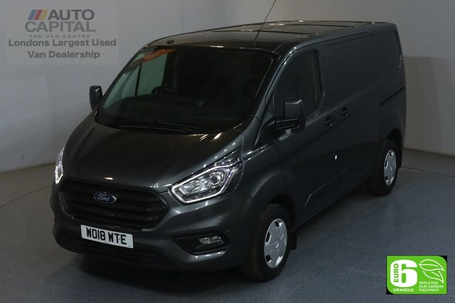 2018 18 FORD TRANSIT CUSTOM 2.0 300 TREND L1H1 SWB 129 BHP EURO 6 AIR CON  MANUFACTURER WARRANTY UNTIL 19/07/2021