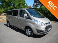 USED 2016 16 FORD TOURNEO CUSTOM 2.2 300 LIMITED TDCI 5d 124 BHP Part Ex to clear - Minor Marks