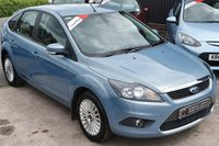 USED 2009 59 FORD FOCUS 1.6 TITANIUM 5d 100 BHP Low Miles - 9 Services - Top of the Range Model