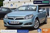 USED 2009 09 VAUXHALL ASTRA 1.8 TWIN TOP SPORT 3d 140 BHP CONVERTIBLE