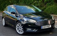 USED 2014 64 FORD FOCUS 1.5 TITANIUM X 5d 180 BHP Low Mileage - £££ of Factory Options