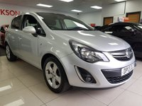 2013 VAUXHALL CORSA 1.2 SXI AC 5d+LOW INSURANCE+SERVICE HISTORY+ £3490.00