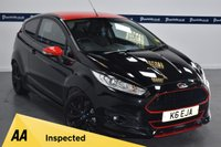 USED 2014 64 FORD FIESTA 1.0 ZETEC S BLACK EDITION 3d 140 BHP (FORD SERVICE HISTORY)