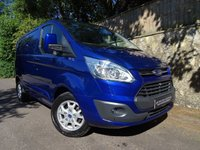 2015 FORD TRANSIT CUSTOM 2.2 290 LIMITED LR P/V 1d 155 BHP SHORT WHEEL BASE VAN £13995.00