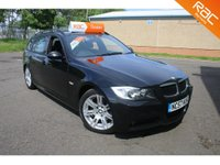 USED 2007 57 BMW 3 SERIES 2.0 320D M SPORT TOURING 5d AUTO 175 BHP FINANCE AVAILABLE