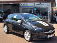USED 2016 16 VAUXHALL CORSA 1.4 STING ECOFLEX 3d 74 BHP Free MOT for Life