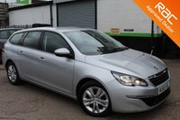 USED 2015 65 PEUGEOT 308 1.6 BLUE HDI S/S SW ACTIVE 5d 120 BHP VIEW AND RESERVE ONLINE OR CALL 01527-853940 FOR MORE INFO.