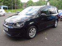 USED 2014 64 VOLKSWAGEN TOURAN 1.6 SE TDI BLUEMOTION TECHNOLOGY 5d 103 BHP SelfPark,Cruise,Media