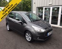 USED 2017 17 FORD B-MAX 1.6 ZETEC NAVIGATOR AUTOMATIC THIS VEHICLE IS AT SITE 1 - TO VIEW CALL US ON 01903 892224