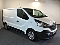 USED 2018 18 RENAULT TRAFIC 1.6 SL27 BUSINESS ENERGY DCI 1d 125 BHP EURO 6, LONG RENAULT WARRANTY REMAINING,