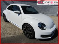 "USED 2014 14 VOLKSWAGEN BEETLE 2.0 DESIGN TDI 3dr 140 BHP **REAR SPOILER, PRIVACY GLASS AND 19""ALLOYS**"
