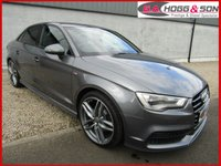 USED 2015 64 AUDI A3 2.0 TDI S LINE 4dr 184 BHP **184 BHP MODEL, BLACK EDITION STYLING PACK, PARKING SENSORS**