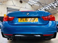USED 2016 16 BMW 4 SERIES 2.0 420d M Sport 2dr PERFORMANCE KIT 20s FSH
