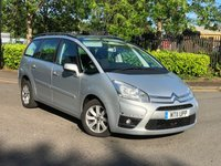 USED 2011 11 CITROEN C4 GRAND PICASSO 2.0 VTR PLUS HDI 5d 148 BHP