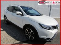 2016 NISSAN QASHQAI 1.5 DCI TEKNA 5dr *FINISHED IN MET WHITE* £12595.00