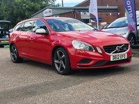 2012 VOLVO V60 1.6 DRIVE R-DESIGN S/S 5d 113 BHP £6500.00