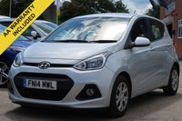 USED 2014 14 HYUNDAI I10 1.2 SE 5d 86 BHP 3 MONTHS AA WARRANTY INCLUDED + 12 MONTHS AA ROADSIDE MEMBERSHIP