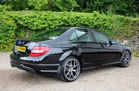 USED 2013 MERCEDES-BENZ C CLASS 2.1 C220 CDI BLUEEFFICIENCY AMG SPORT PLUS 4d AUTO 168 BHP