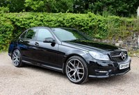 2013 MERCEDES-BENZ C CLASS 2.1 C220 CDI BLUEEFFICIENCY AMG SPORT PLUS 4d AUTO 168 BHP £10850.00