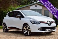 USED 2014 64 RENAULT CLIO 0.9 DYNAMIQUE S MEDIANAV ENERGY TCE S/S 5d 90 BHP FSH, NEW MOT, £20 TAX, SAT-NAV, SENSORS, CRUISE CONTROL, BLUETOOTH