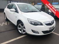 USED 2011 11 VAUXHALL ASTRA 1.6 SRI 5d 113 BHP ONE PREVIOUS OWNER + FULL SERVICE HISTORY