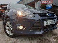 USED 2012 12 FORD FOCUS 1.6 ZETEC 5d 104 BHP