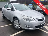 USED 2010 10 VAUXHALL ASTRA 1.4 EXCLUSIV 5d 98 BHP MOT'd TILL MARCH 2020