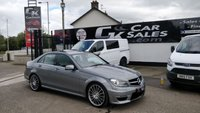 USED 2013 MERCEDES-BENZ C CLASS 6.2 C63 AMG 4d AUTO 457 BHP