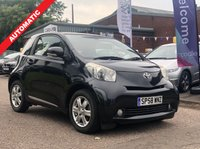 USED 2009 58 TOYOTA IQ 1.0 VVT-I IQ2 3d AUTO 68 BHP FULL YEAR MOT *  AUTO CLIMATE CONTROL *  AUX CONNECTION *