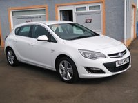 "USED 2015 15 VAUXHALL ASTRA 1.4 SRI 5d 98 BHP 17"" Alloys, Bluetooth, Front Fogs, USB point"