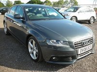 USED 2008 08 AUDI A4 2.0 TDI SE 4d 141 BHP FSH - Leather - Sat nav - Cambelt changed