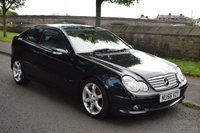 USED 2006 56 MERCEDES-BENZ C CLASS 1.8 C200 KOMPRESSOR SPORT EDITION 3d 161 BHP SERVICE HISTORY, 6 SPEED MANUAL, RADIO CD PLAYER, AIR CONDITIONING, AMG ALLOYS
