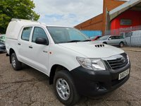 2013 TOYOTA HI-LUX HL2 D-4D Double Cab 4x4 Pickup *AIR CON + ONLY 35000 MILES* £10495.00