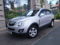 USED 2015 15 VAUXHALL ANTARA 2.2 EXCLUSIV CDTI S/S 5d 161 BHP ****FINANCE ARRANGED****PART EXCHANGE WELCOME***PART LEATHER*HEATED SEATS*6SPEED*AUX*USB*REAR PS