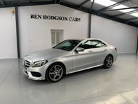 USED 2017 17 MERCEDES-BENZ C CLASS 2.1 C 220 D AMG LINE 4d AUTO 170 BHP Only 21k Miles! Great spec!
