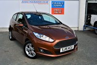 USED 2015 15 FORD FIESTA 1.5 ZETEC TDCI 3d 74 BHP PREVIOUSLY LOCALLY OWNED
