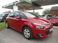 2014 CITROEN C4 PICASSO 1.6 HDI VTR PLUS 5d 91 BHP ONE FORMER KEEPER £6495.00