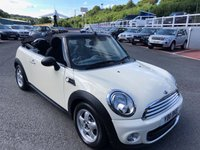 USED 2011 11 MINI CONVERTIBLE 1.6 ONE 2d 98 BHP Just 29,500 miles from new with service history