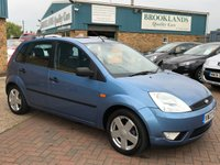 USED 2003 03 FORD FIESTA 1.4 ZETEC MOT UNTIL 29th June 2020 Full Service History  Part Exchange To Clear , Mot Until June 2020 2 keys