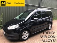 USED 2015 15 FORD TRANSIT COURIER 1.6 TREND TDCI 94 BHP *AIR CON*SIDE DOOR*ALLOYS*1 OWNER*2020 MOT*