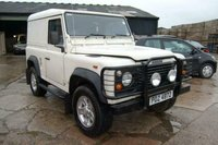 USED 1994 P LAND ROVER DEFENDER 2.5 TURBO DIESEL 200 TDI VAN 3 SEATER LONG MOT NICE ORIGINAL CONDITION ALLOYS SHELVES RACKING TOW BAR