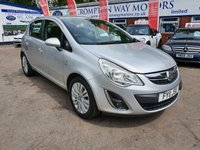 USED 2011 11 VAUXHALL CORSA 1.4 SE 5d 98 BHP 0%  FINANCE AVAILABLE ON THIS CAR PLEASE CALL 01204 393 181
